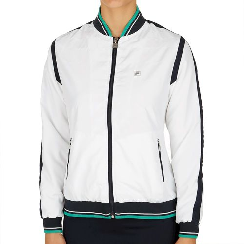 Fila Performance College Blousson Collien Training Jacket Women - White, Green