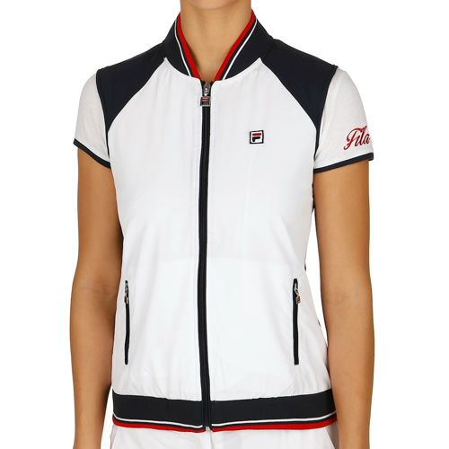 Fila Performance College Cosma Vest Women - White, Dark Blue