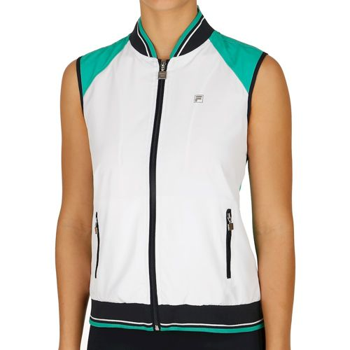 Fila Performance College Cosma Vest Women - White, Green