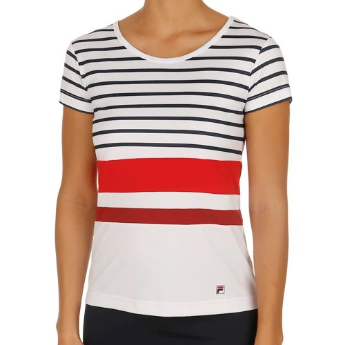 Fila Performance Summer T-Shirt Women - White, Dark Blue