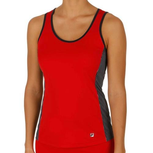 Fila Performance Selma Tank Top Women - Red, Dark Blue
