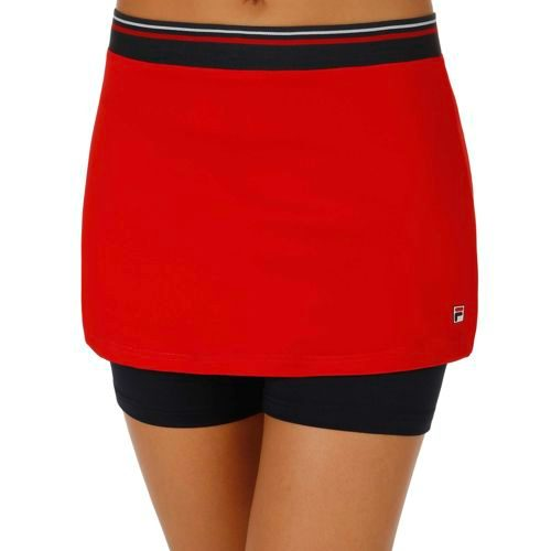 Fila Performance Shirin Skirt Women - Red, Dark Blue