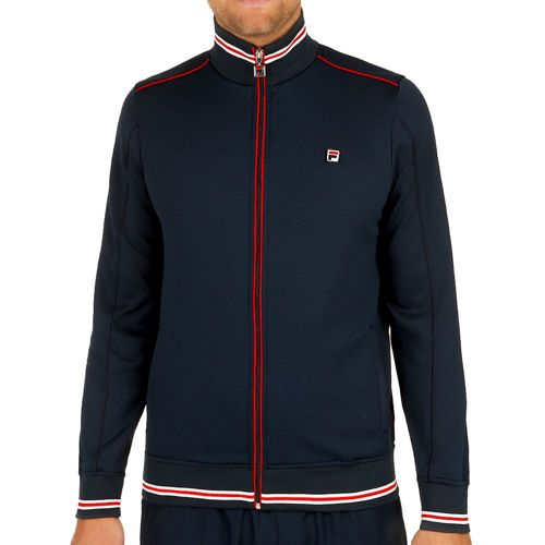 Fila Jon Training Jacket Men - Dark Blue, Red