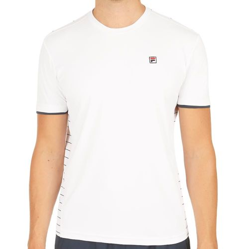 Fila Sem T-Shirt Men - White, Dark Blue