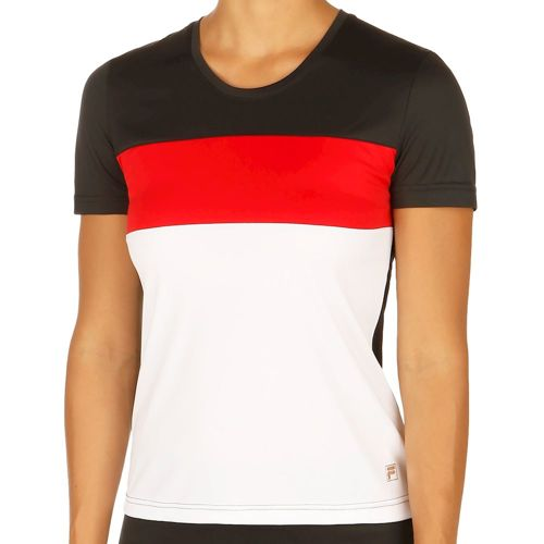 Fila Saya T-Shirt Women - Black, White