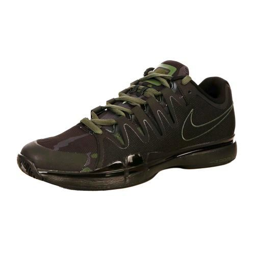 Nike Vapor Zoom 9,5 Tour Quickstrike All Court Shoe Kids - Dark Green, Anthracite