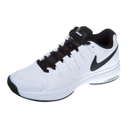 Nike Roger Federer Zoom Vapor 9.5 Tour All Court Shoe Kids - White, Black