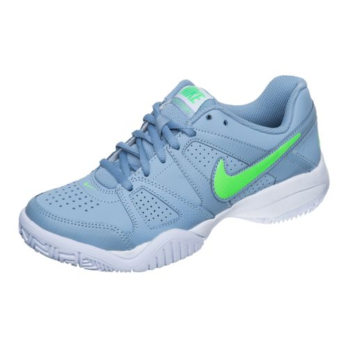 Nike City Court 7 Junior All Court Shoe Kids - Lightgrey, Green