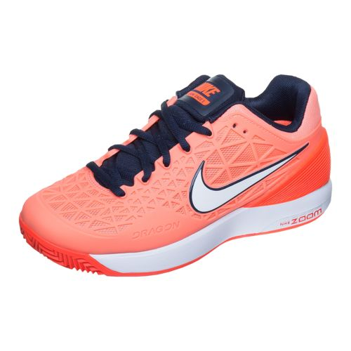 Nike Zoom Cage Air 2 Clay Clay Court Shoe Women - Red