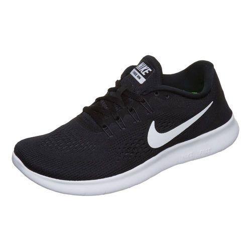 Nike Free RN Natural Running Shoe Women - Black, White