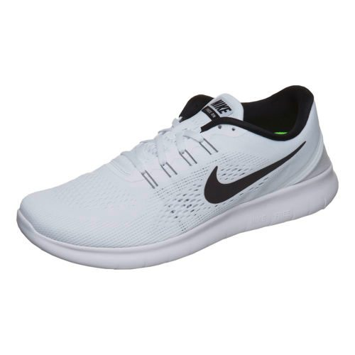 Nike Free RN Natural Running Shoe Men - White, Black