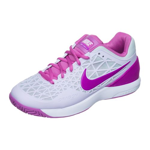 Nike Zoom Cage 2 EU All Court Shoe Women - Violet, White