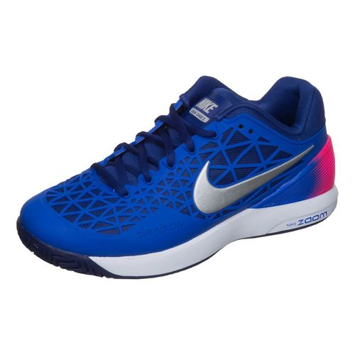 Nike Zoom Cage 2 EU All Court Shoe Women - Blue, Dark Blue