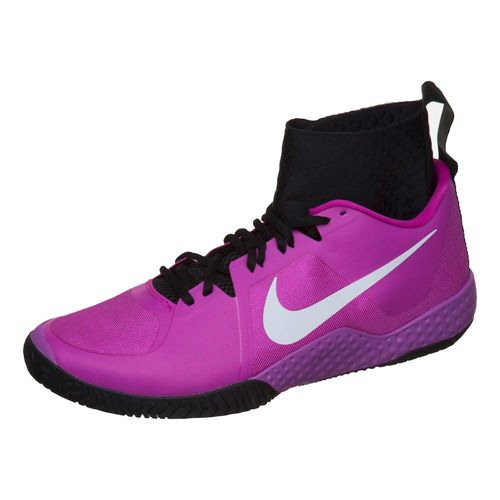 Nike Serena Williams Court Flare SS16 All Court Shoe Women - Violet, White