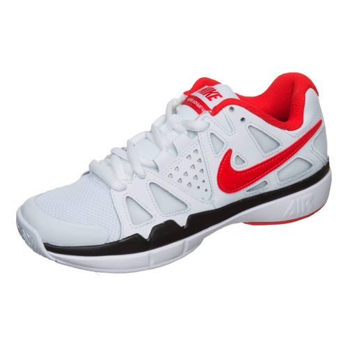 Nike Air Vapor Advantage All Court Shoe Kids - White, Red