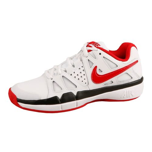 Nike Air Vapor Advantage Clay Court Shoe Kids - White, Red