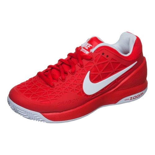 Nike Zoom Cage 2 EU Clay Clay Court Shoe Kids - Red, White