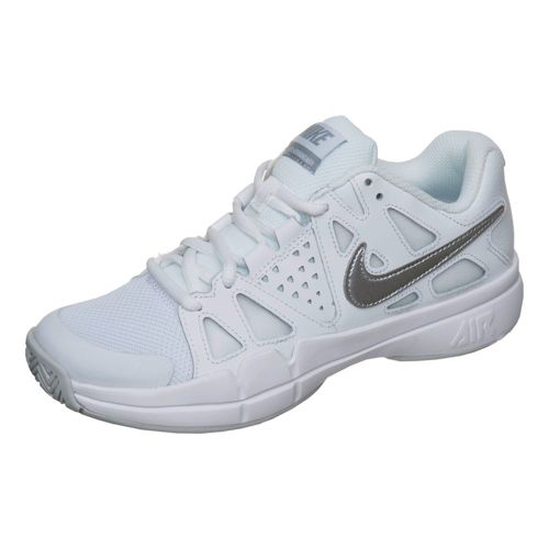 Nike Air Vapor Advantage All Court Shoe Women - White, Silver