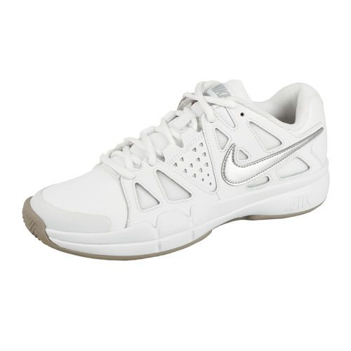 Nike Air Vapor Advantage Clay Court Shoe Women - White, Silver