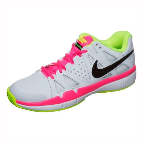 Nike Air Vapor Advantage Clay Court Shoe Women - White, Black