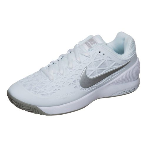 Nike Zoom Cage 2 All Court Shoe Women - White, Lightgrey
