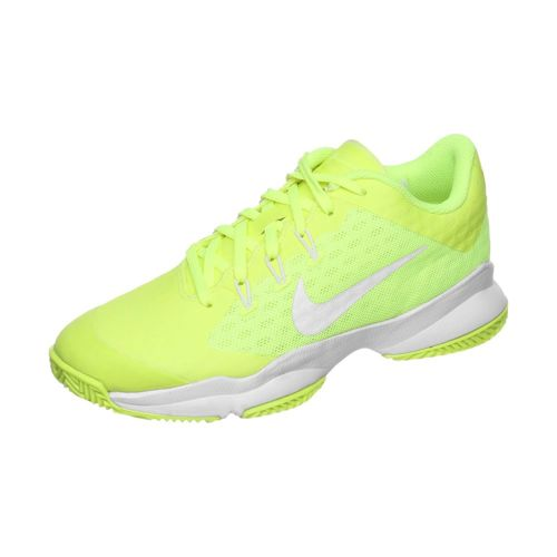 Nike Air Zoom Ultra Clay Court Shoe Women - Neon Yellow, White