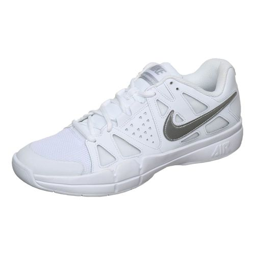 Nike Air Vapor Advantage Indoor Carpet Shoe Women - White, Silver