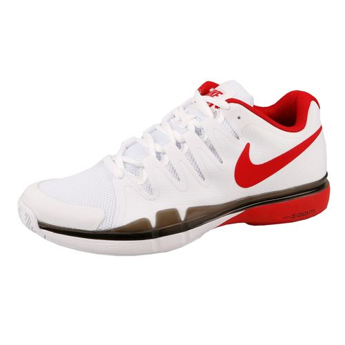 Nike Roger Federer Zoom Vapor 9.5 Tour All Court Shoe Men - White, Red