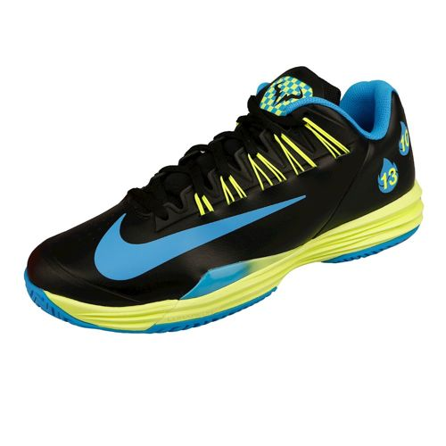 Nike Rafael Nadal Lunar Ballistec 1,5 LG All Court Shoe Men - Black, Blue
