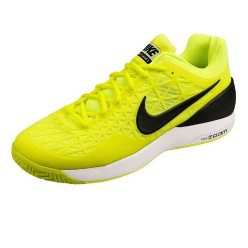 Nike Zoom Cage 2 All Court Shoe Men - Neon Yellow, Black