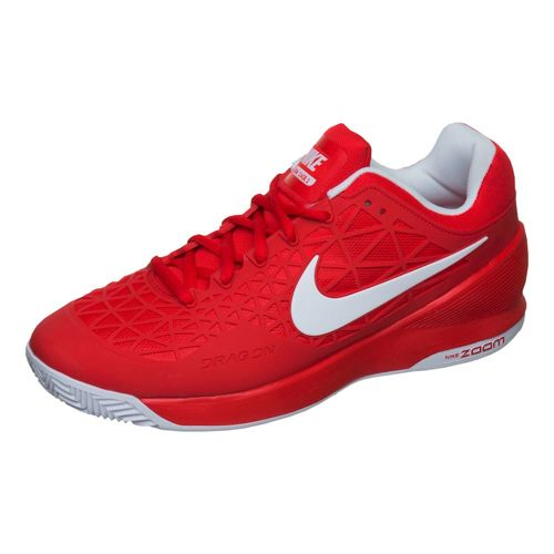 Nike Zoom Cage 2 EU Clay Clay Court Shoe Men - Red, White