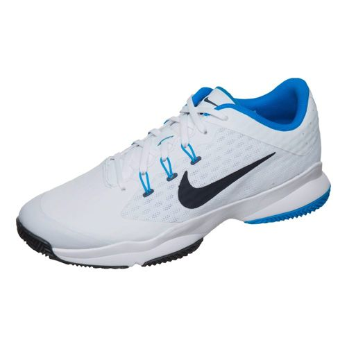 Nike Air Zoom Ultra Clay Court Shoe Men - White, Dark Blue