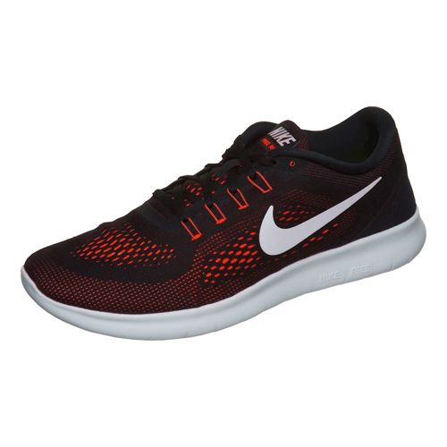 Nike Free RN Natural Running Shoe Men - Black, White