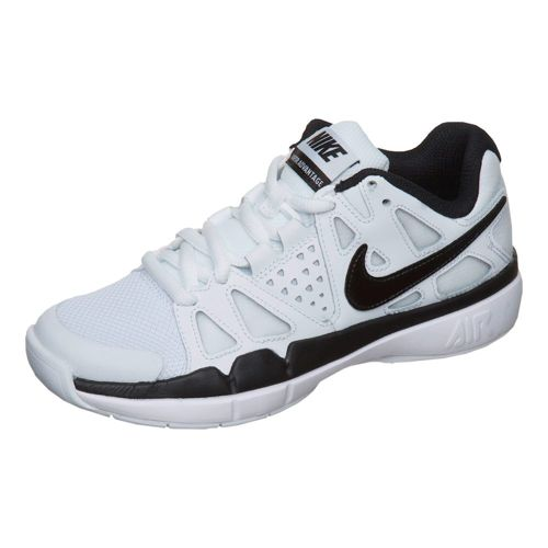 Nike Air Vapor Advantage Indoor Carpet Shoe Kids - White, Black