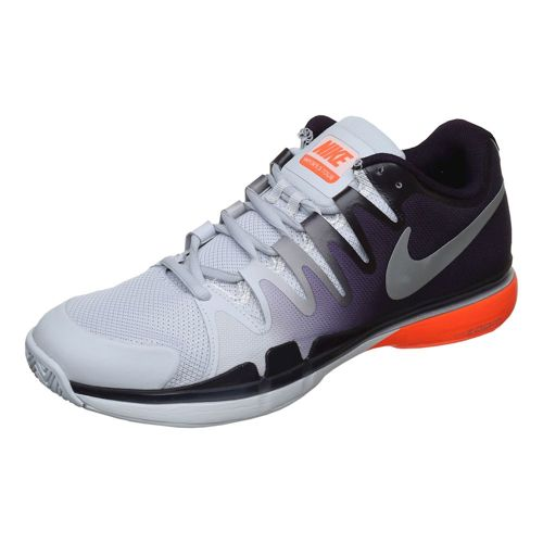 Nike Roger Federer Air Zoom Vapor 9.5 Tour All Court Shoe Men - Grey, Black