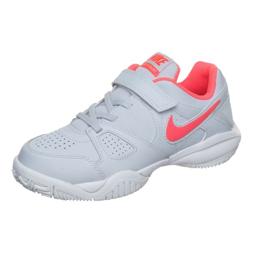 Nike City Court 7 All Court Shoe Kids - Lightgrey, Coral