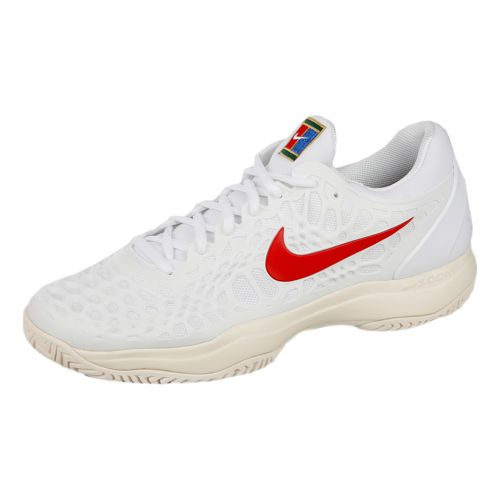 Nike Zoom Cage 3 All Court Shoe Men - White, Red