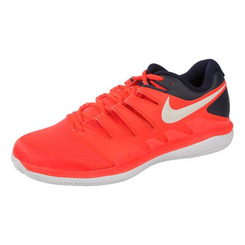 Nike Air Zoom Vapor X Clay Court Shoe Men - Orange, Dark Blue