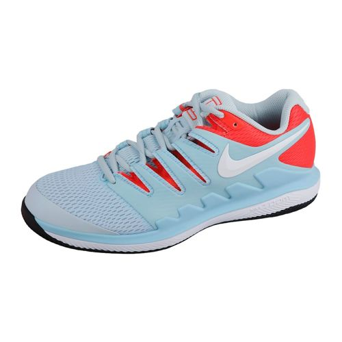 Nike Air Zoom Vapor X All Court Shoe Women - Light Blue, Red