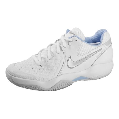 Nike Air Zoom Resistance All Court Shoe Women - White, Silver
