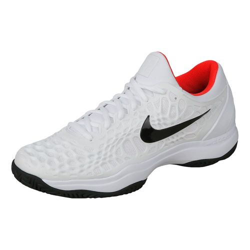 Nike Air Zoom Cage 3 HC All Court Shoe Men - White, Black