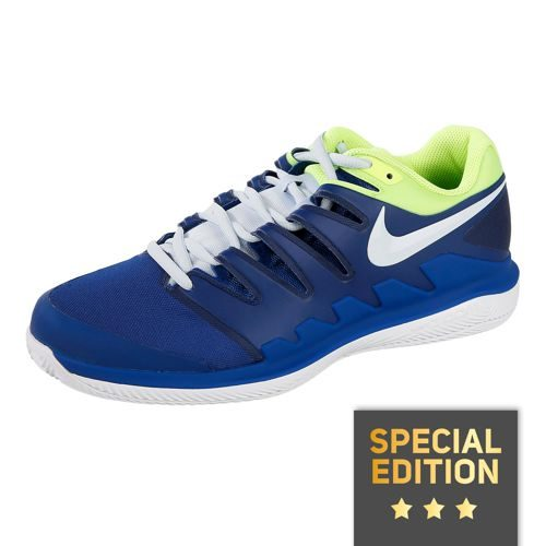 Nike Air Zoom Vapor X Clay Court Shoe Special Edition Men - Dark Blue, Neon Yellow