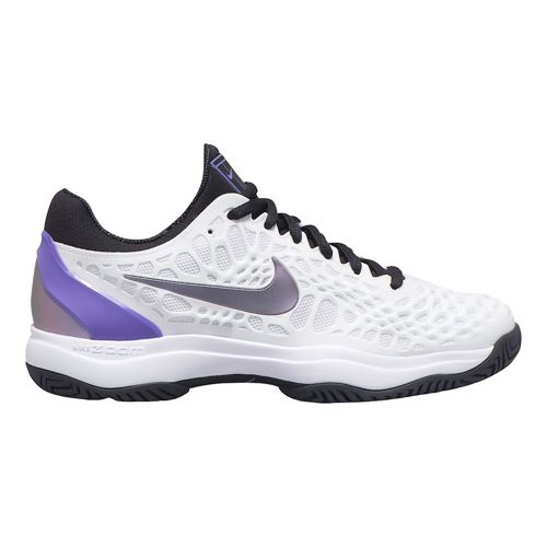 Nike Zoom Cage 3 All Court Shoe Women - White, Violet