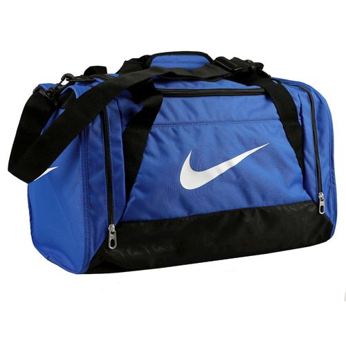 Nike Brasilia 6 Duffel Sports Bag Small - Blue, Black