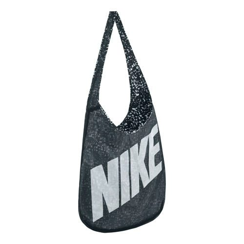 Nike Graphic Reversible Sports Bag - Black, White
