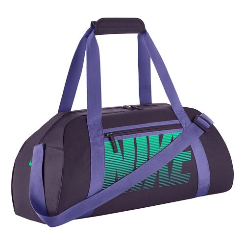 Nike Gym Club Sports Bag - Violet, Green