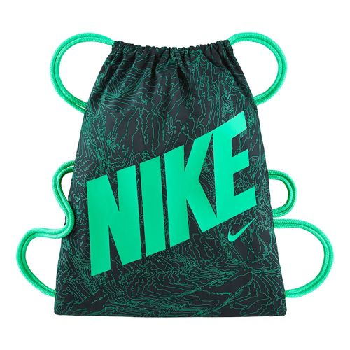 Nike Graphic Sports Bag - Dark Green, Light Green