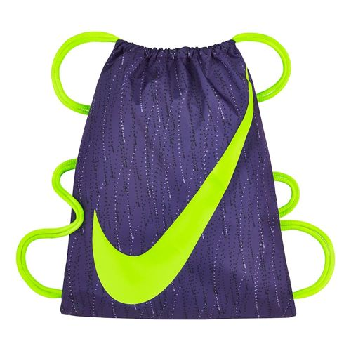 Nike Graphic Sports Bag - Violet, Neon Yellow