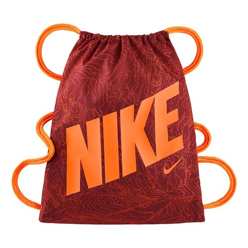Nike Graphic Sports Bag - Red, Orange