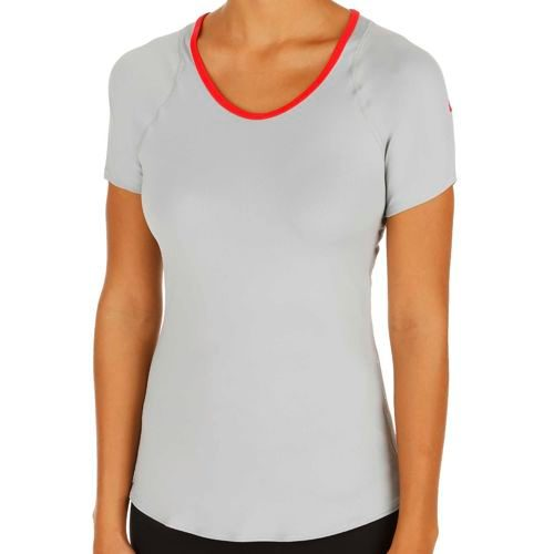 Nike Advantage T-Shirt Women - Silver